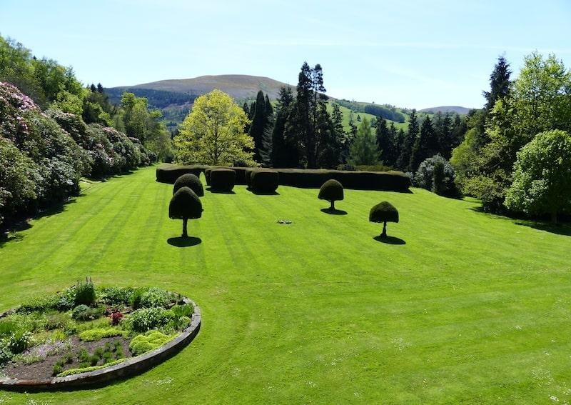 Silent retreat landscape garden