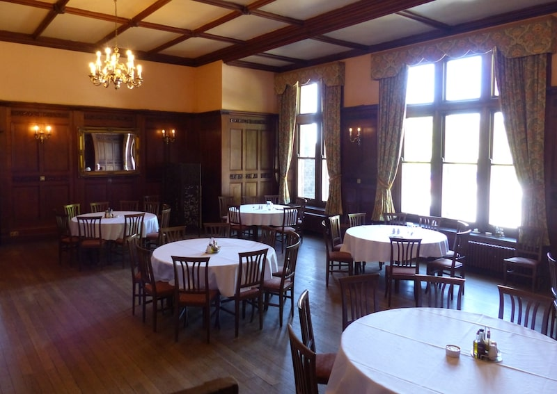Buckland Hall Retreat Venue Dining Room