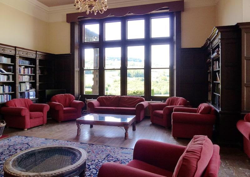 Buckland Hall Retreat Venue Library