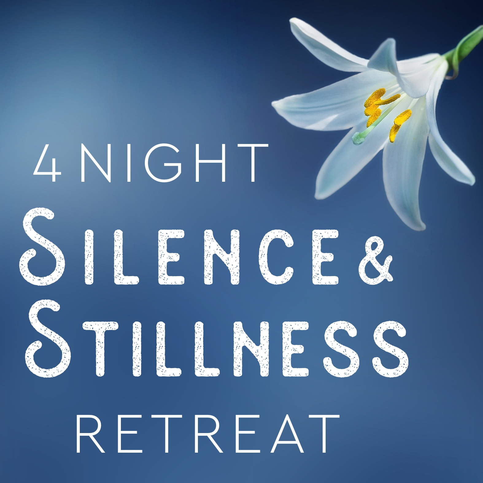 4 night silent retreat uk 2019 banner