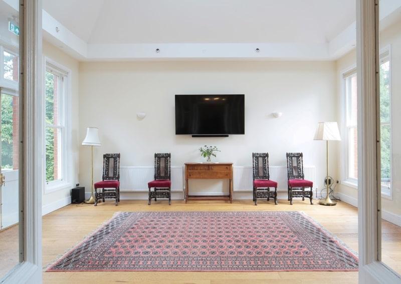 5 day silent retreat 2020 venue interior art space