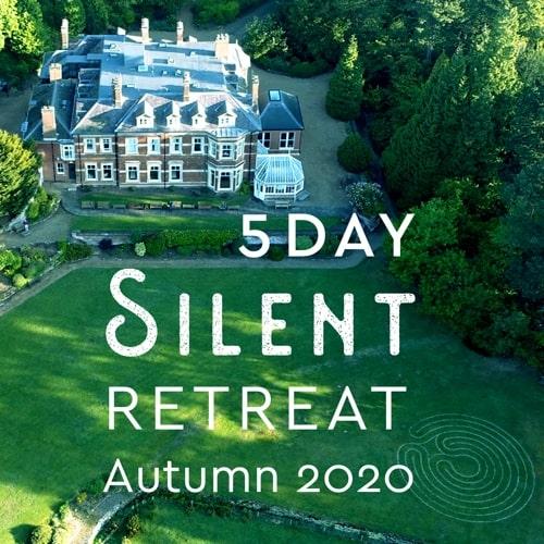 4 night silent retreat uk 2019 banner
