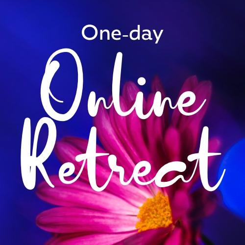 One-day silent retreat header banner