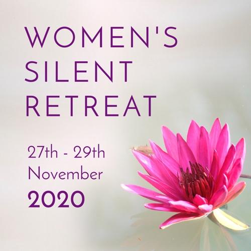 Women's silent retreat 2020 header banner