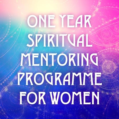 Spiritual Mentoring Programme for Women 2019 banner