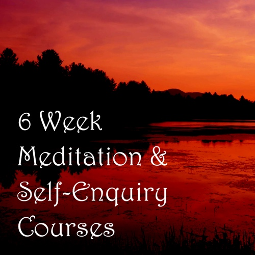 Meditation and Spiritual Self-Enquiry course Banner